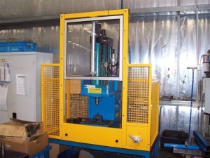 Hydraulic Press Custom Guarding