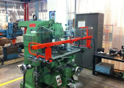 Cleervue SSP Table Mounted Mill Guard