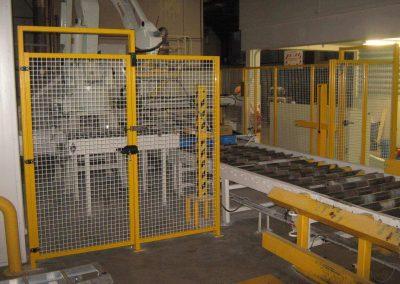 Robot Palletiser Enclosure