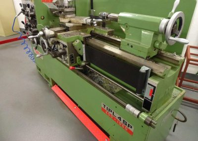 Tecno PAT lathe shaft guarding